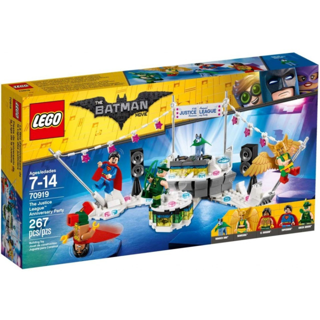 Obrázek produktu LEGO Batman Movie 70919 Výroční oslava Ligy spravedlivých