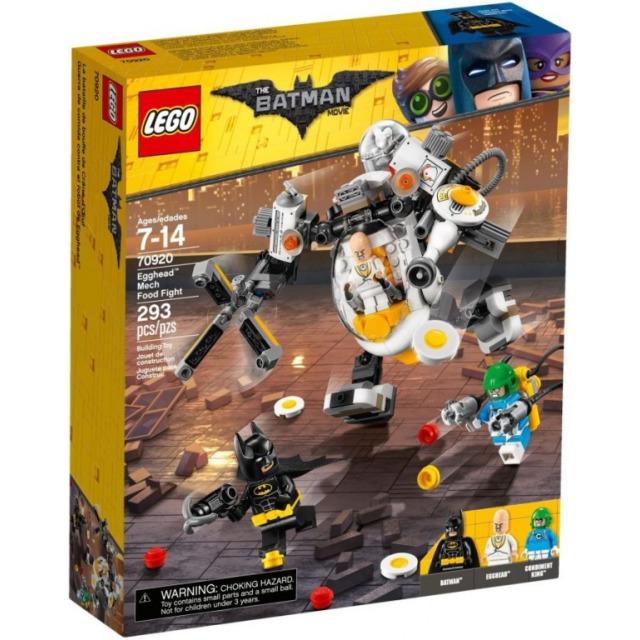Obrázek produktu LEGO Batman Movie 70920 Robot Egghead™