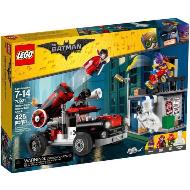 Obrázek produktu LEGO Batman Movie 70921 Harley Quinn™ a útok dělovou koulí
