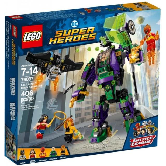 Obrázek produktu LEGO Super Heroes 76097 Lex Luthor ™ a zničení robota