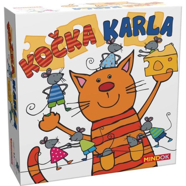 Obrázek produktu Mindok Kočka Karla