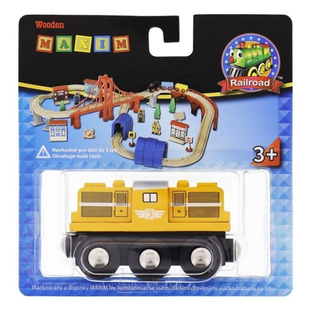 Obrázek produktu Dieselová lokomotiva žlutá, Maxim