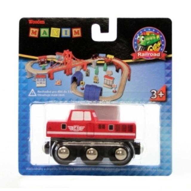 Obrázek produktu Maxim 50815 Dieselová lokomotiva červená