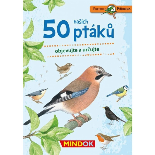 Obrázek produktu Expedice příroda: 50 našich ptáků