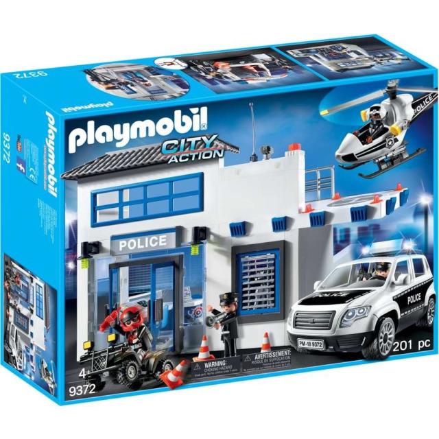 Obrázek produktu Playmobil 9372 Policejní stanice s alarmem