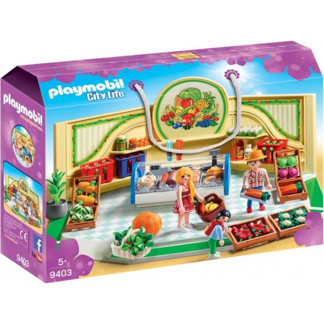Obrázek produktu Playmobil 9403 Prodejna zdravé výživy