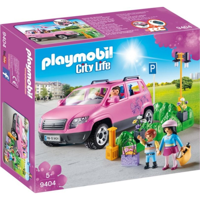 Obrázek produktu Playmobil 9404 Rodinným vozem za nákupy