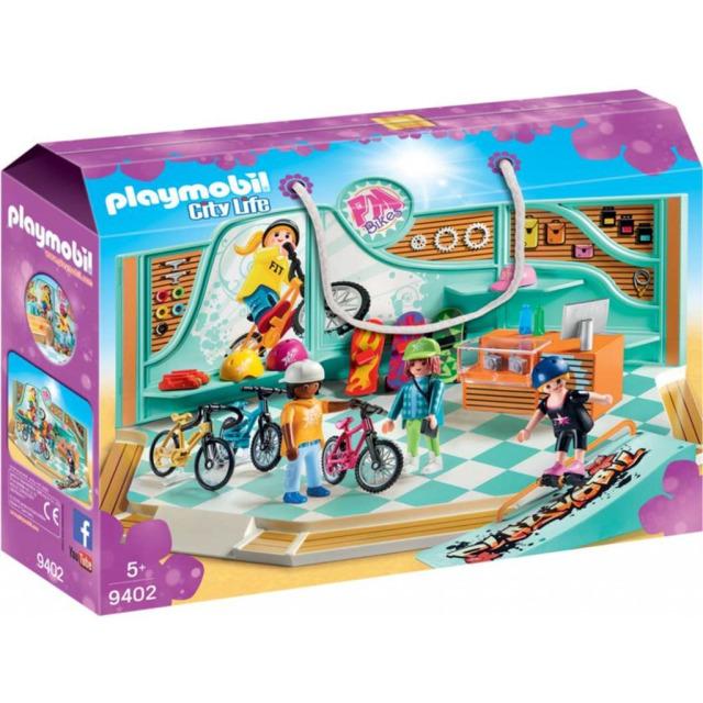 Obrázek produktu Playmobil 9402 Cyklo & Skate Shop