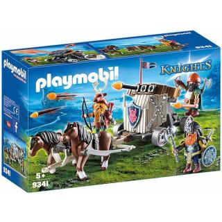 Obrázek 1 produktu Playmobil 9341 Poníci táhnoucí balistu s trpaslíky