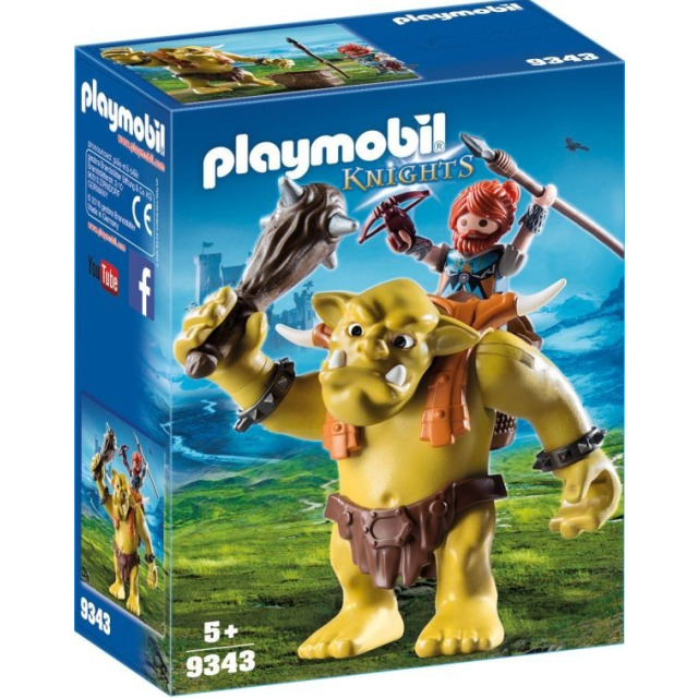 Obrázek produktu Playmobil 9343 Obří Troll s batohem pro trpaslíka