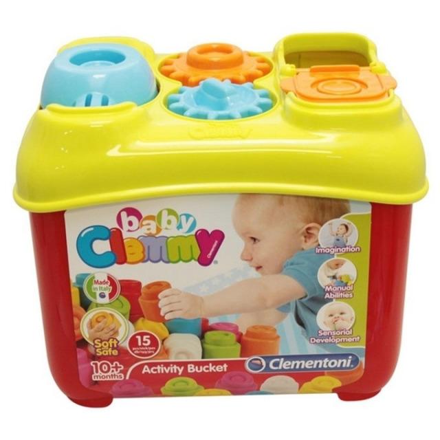 Obrázek produktu Clemmy Baby Aktivní kyblík s prostrkávacími tvary