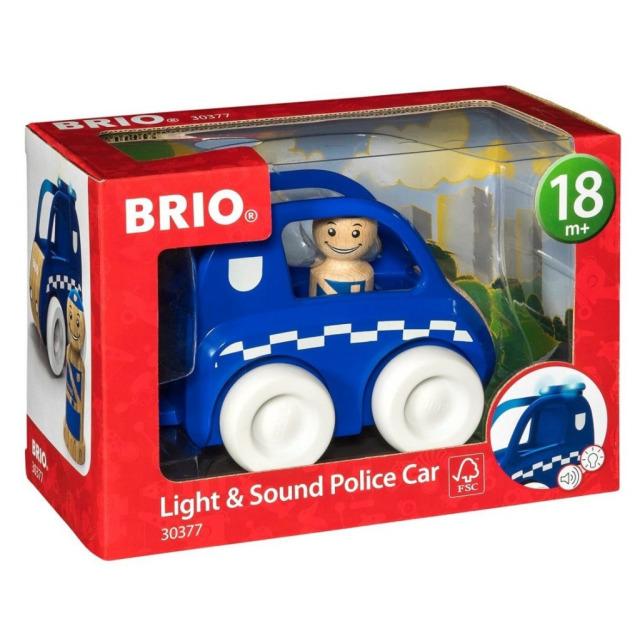 Obrázek produktu BRIO 30377 Svítící a zvukové policejní auto