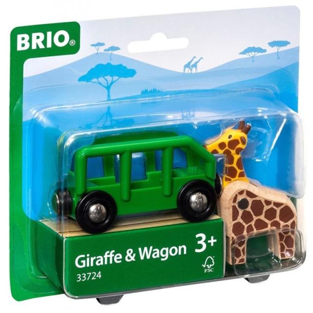 Obrázek produktu BRIO 33724 Žirafa a vagón