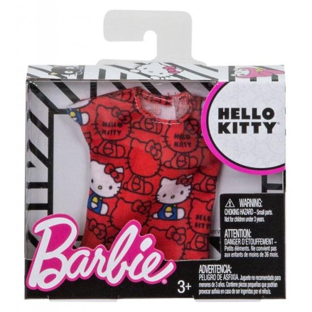 Obrázek produktu Barbie Tričko červené, Mattel FLP41