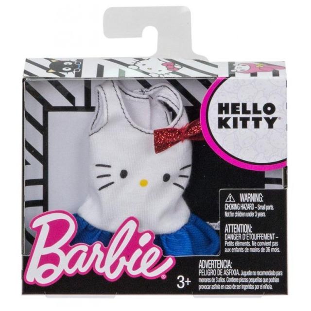 Obrázek produktu Barbie Tričko bílé, Mattel FLP45
