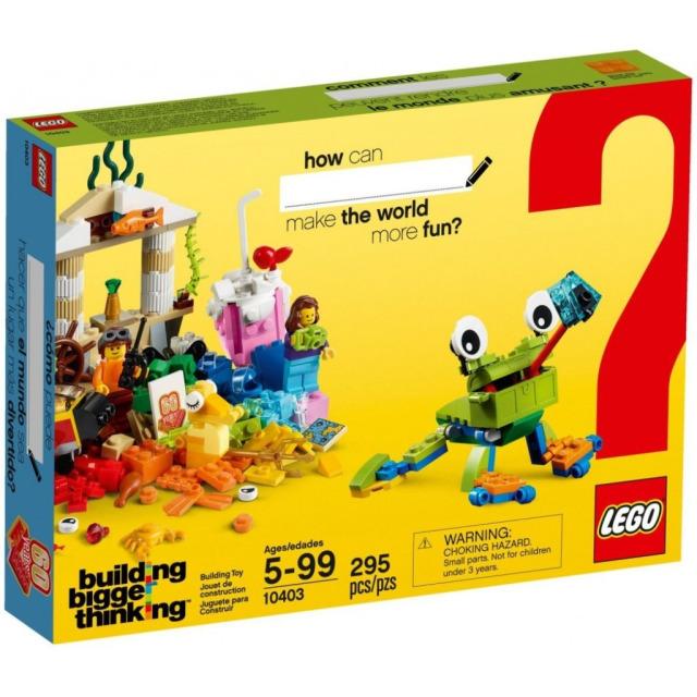 Obrázek produktu LEGO Classic 10403 Svět zábavy, 295 kostek