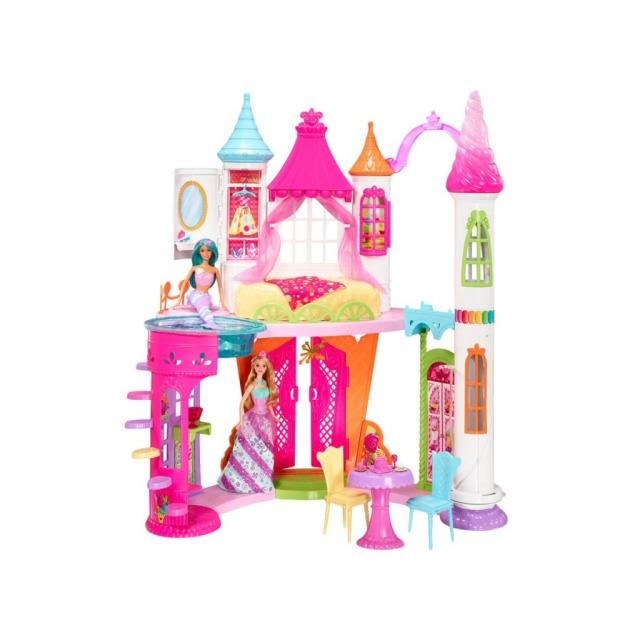 Obrázek produktu Barbie Zámek ze sladkého království, Mattel DYX32