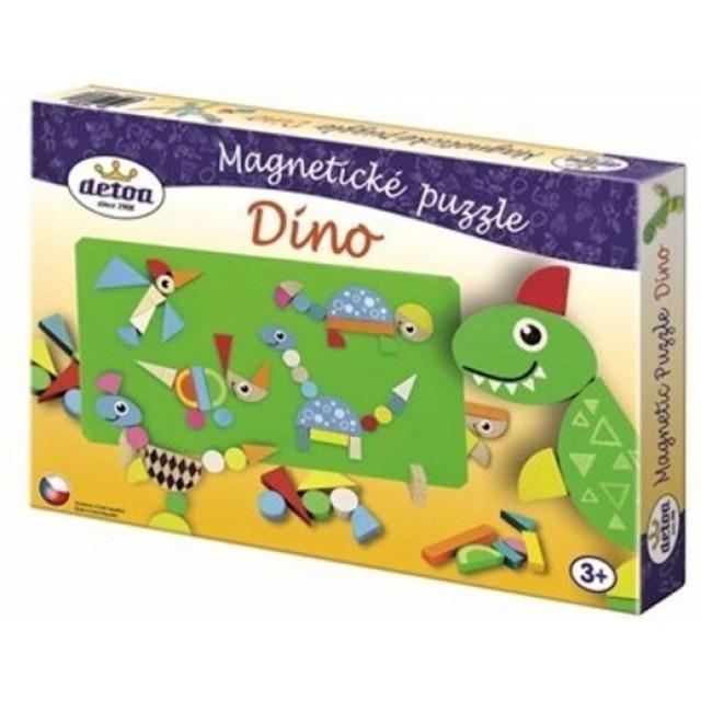 Obrázek produktu Detoa Magnetické puzzle Dino