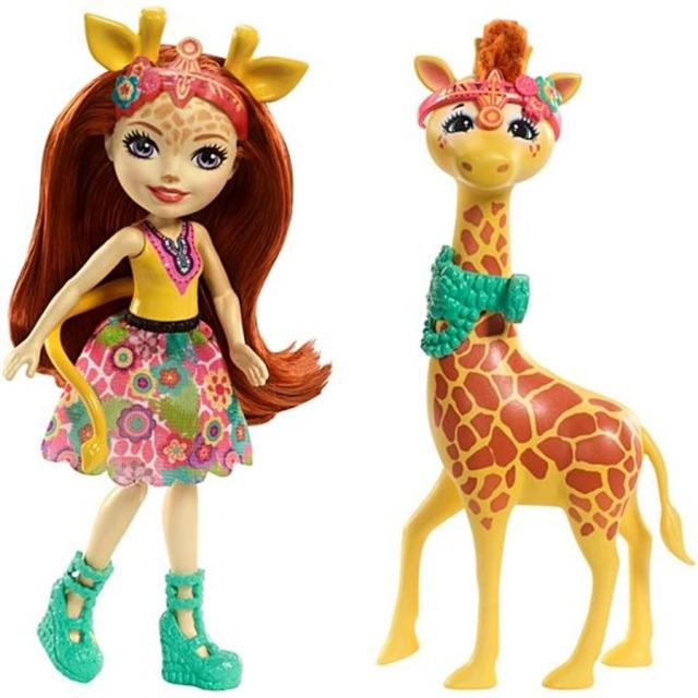 Obrázek produktu ENCHANTIMALS Panenka Pawl a žirafa Gillian, Mattel FKY74