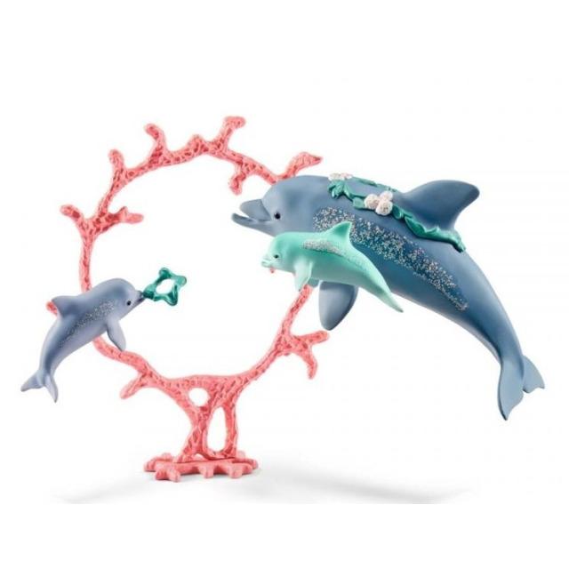 Obrázek produktu Schleich 41463 Delfín s mláďaty