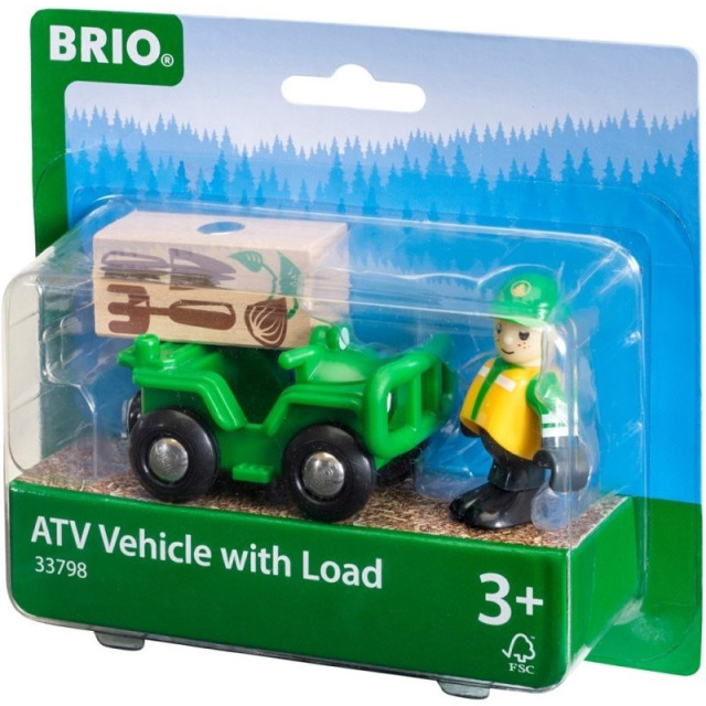 Obrázek produktu BRIO 33798 Univerzální vozítko s panáčkem pro přepravu nákladu