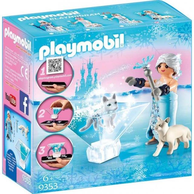 Obrázek produktu Playmobil 9353 Playmogram 3D Ledová královna s polární liškou