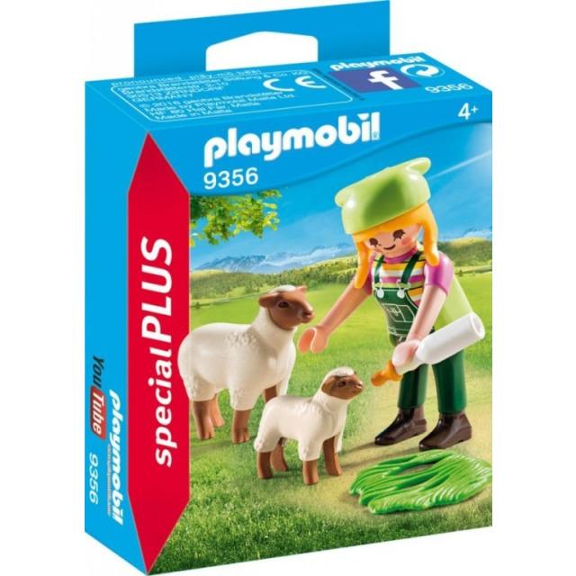 Obrázek produktu Playmobil 9356 Farmářka s ovcemi