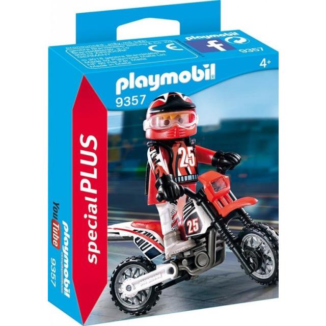 Obrázek produktu Playmobil 9357 Závodník na motorce