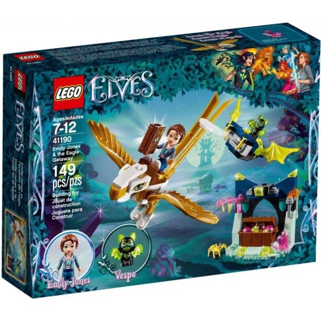 Obrázek produktu LEGO Elves 41190 Emily Jonesová a únik na orlovi