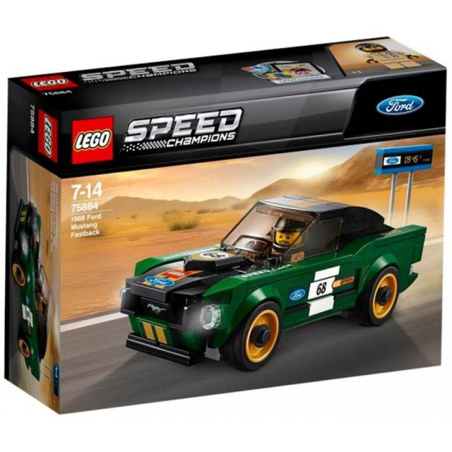 Obrázek produktu LEGO Speed Champions 75884 - 1968 Ford Mustang Fastback