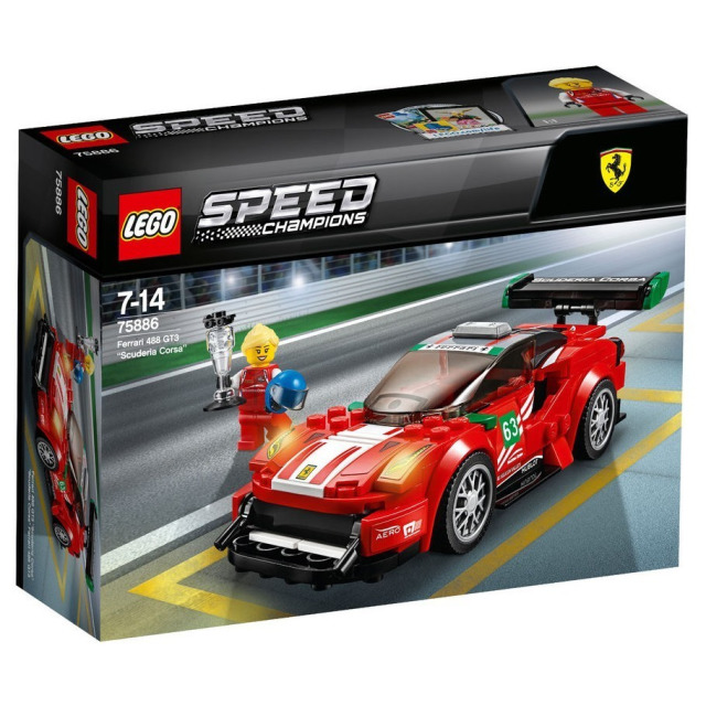 "Obrázek produktu LEGO Speed Champions 75886 Ferrari 488 GT3 ""Scuderia Corsa"""