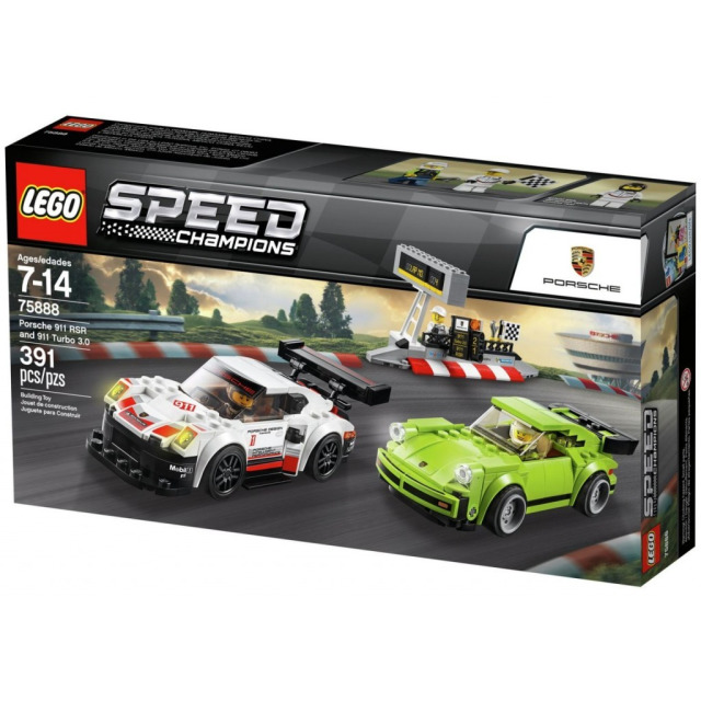 Obrázek produktu LEGO Speed Champions 75888 Porsche 911 RSR a 911 Turbo 3.0