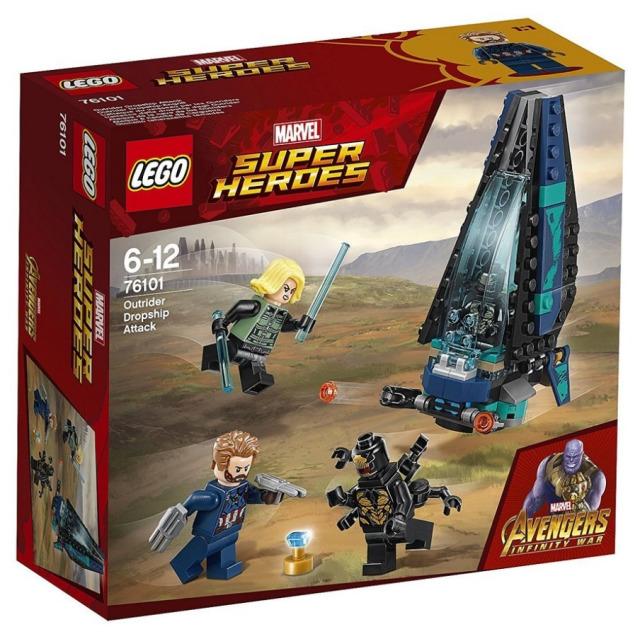 Obrázek produktu LEGO Super Heroes 76101 Útok lodi Outrider