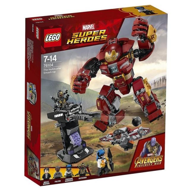 Obrázek produktu LEGO Super Heroes 76104 Střetnutí s Hulkbusterem