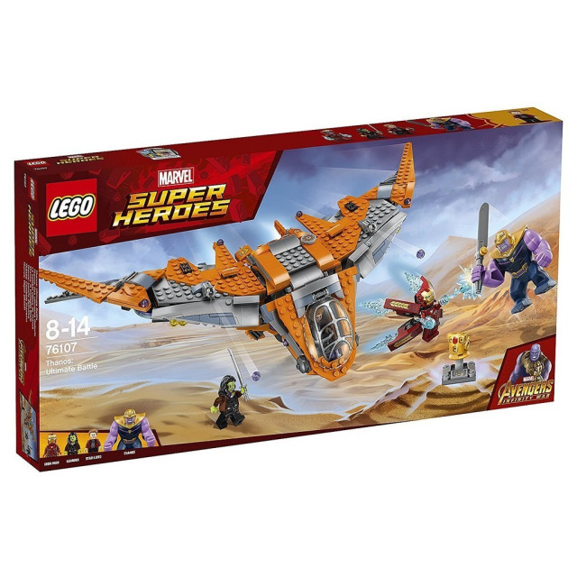 Obrázek produktu LEGO Super Heroes 76107 Thanos: Poslední bitva