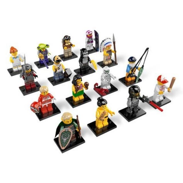 Obrázek produktu LEGO 8803 Kolekce 16 minifigurek série 3