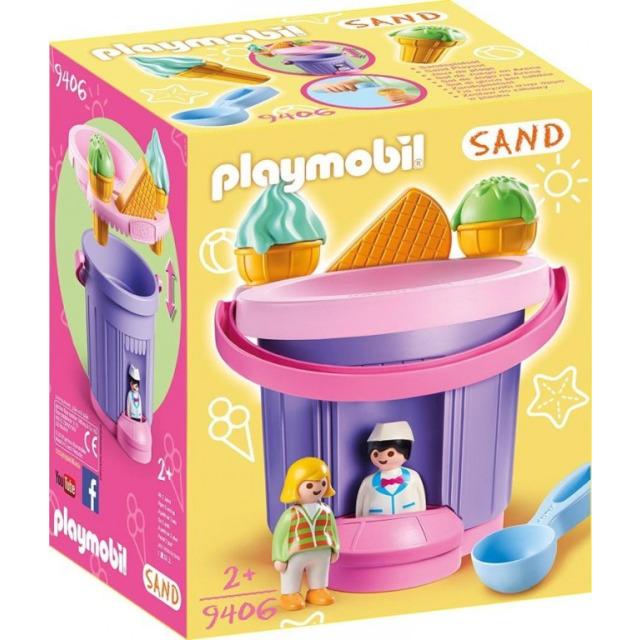 Obrázek produktu Playmobil 9406 Sada na písek Zmrzlinářství