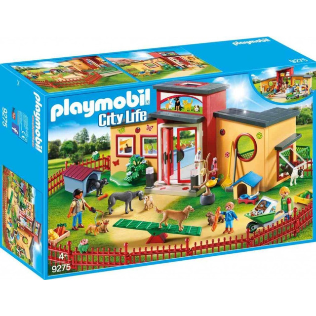 Obrázek produktu Playmobil 9275 Zvířecí hotel Tlapka