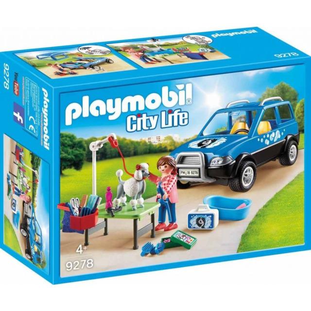 Obrázek produktu Playmobil 9278 Mobilní psí salón