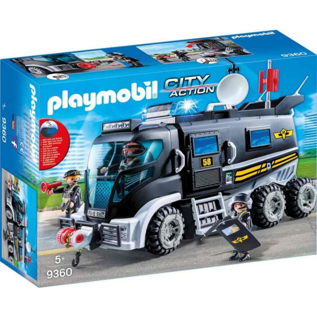Obrázek produktu Playmobil 9360 Speciální policejní zásahové vozidlo