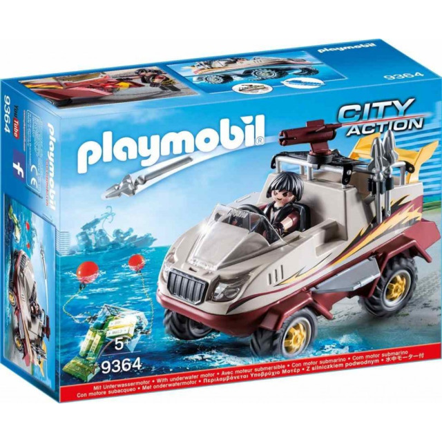 Obrázek produktu Playmobil 9364 Obojživelný vůz specilání zásahové jednotky