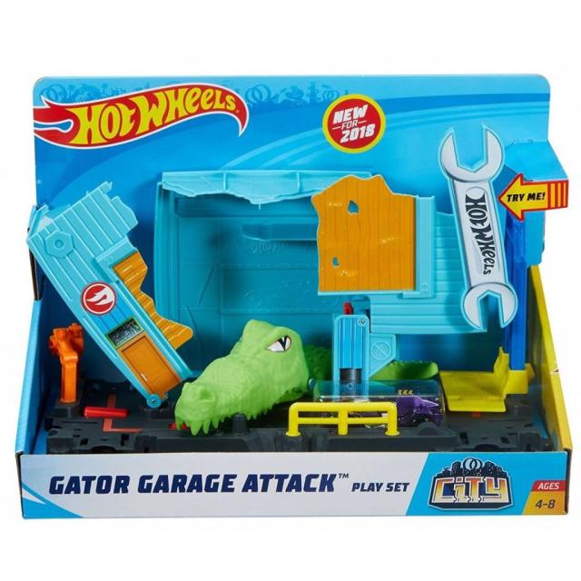 Obrázek produktu Hot Wheels City Utkej se s příšerou Krokodýlí útok, Mattel FNB06