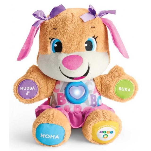 Obrázek produktu Fisher Price Mluvící pejskova sestřička CZ, Mattel FPP64