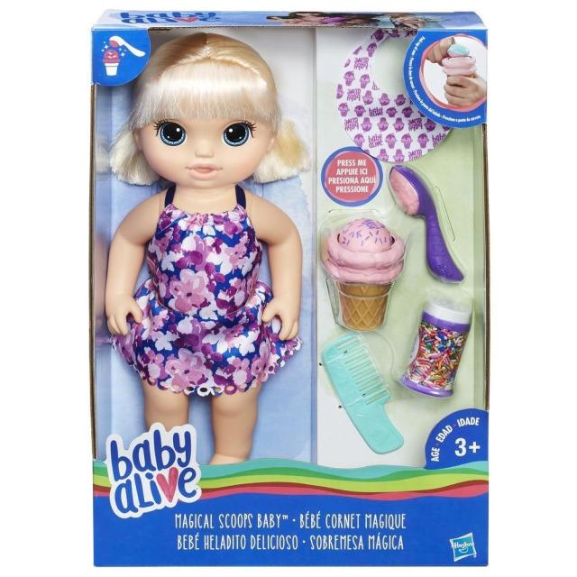 Obrázek produktu Baby Alive panenka s magickou zmrzlinou