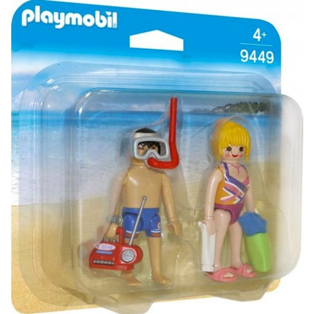 Obrázek produktu Playmobil 9449 Návštěvníci pláže
