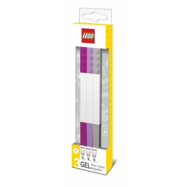 Obrázek produktu LEGO Gelová pera, mix DIF barev - 3 ks