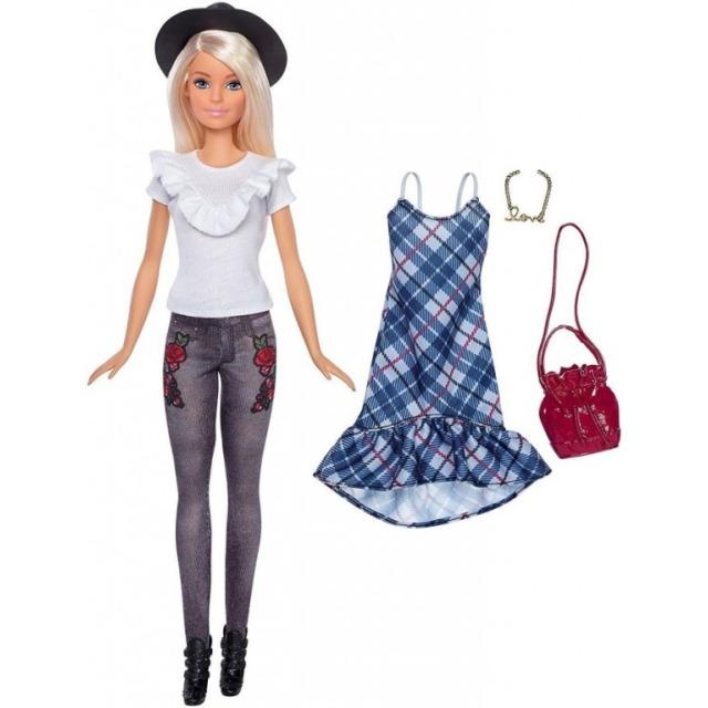 Obrázek produktu Barbie Modelka 83 s oblečky a doplňky, Mattel FJF68