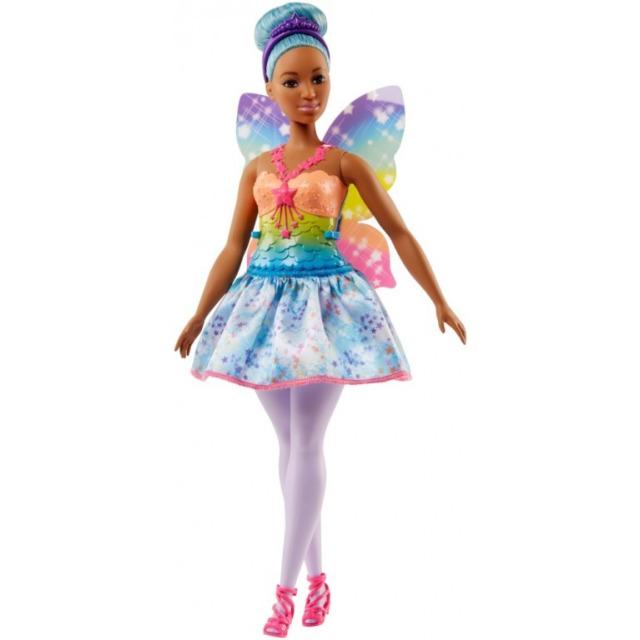 Obrázek produktu Barbie Víla modré vlasy, Mattel FJC87