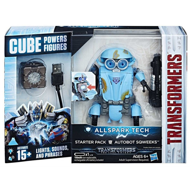 Obrázek produktu Transformers: Poslední rytíř Interaktivní figurka Autobot Sqweeks ,Hasbro C3481