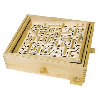 Obrázek 1 produktu Labyrint dřevěný 32,5 x 32,5cm